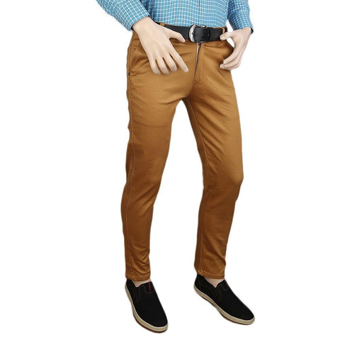 Men's Casual Cotton Pant - Mustard - test-store-for-chase-value