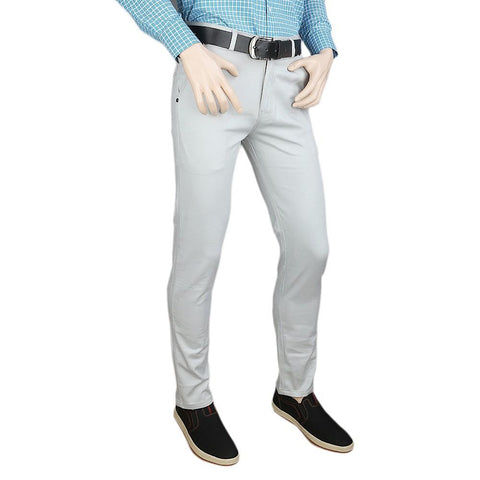 Men's Casual Cotton Pant - Grey - test-store-for-chase-value