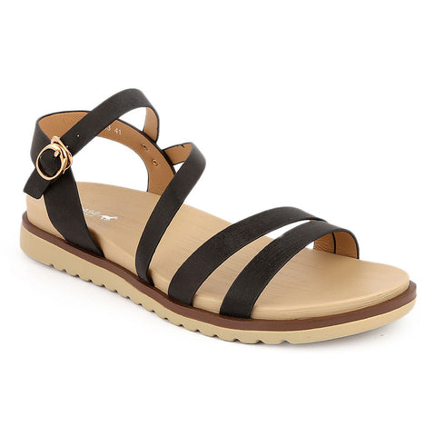 Women's Softy Sandals 5613-13 - Black - test-store-for-chase-value
