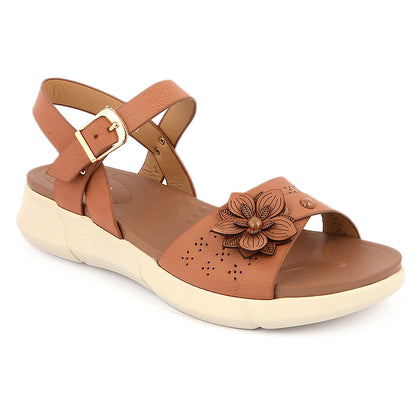 Women's Softy Sandals 5629-23 - Brown - test-store-for-chase-value