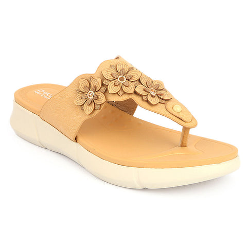 Women's Softy Slipper 5620-17 - Beige - test-store-for-chase-value