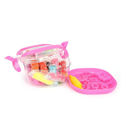 Clay Bucket Box -Pink - test-store-for-chase-value