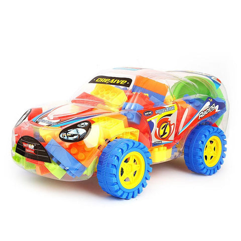 Building Blocks Car Toys - Multi - test-store-for-chase-value