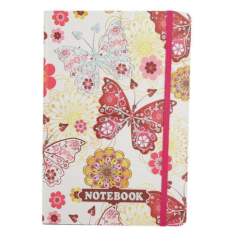 Butterfly Mini Notebook - Pink - test-store-for-chase-value