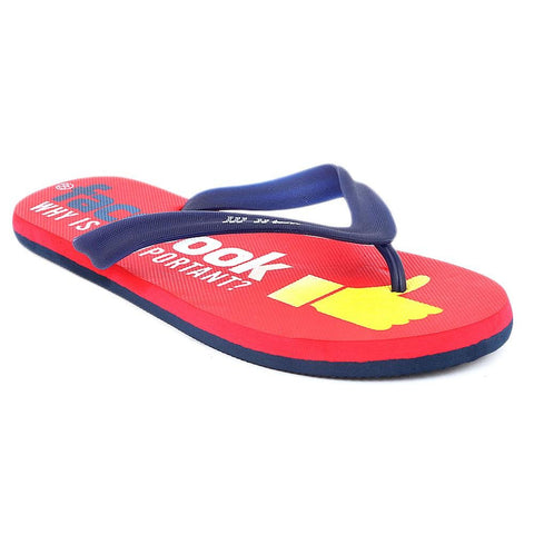 Men's Flip Flops Slippers Hi-Walk - Red - test-store-for-chase-value