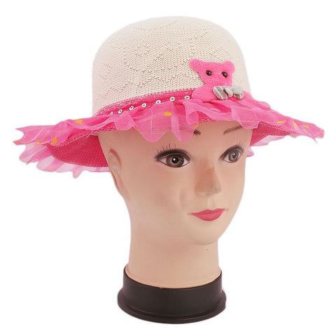 Girls Floppy Hat - Pink - test-store-for-chase-value