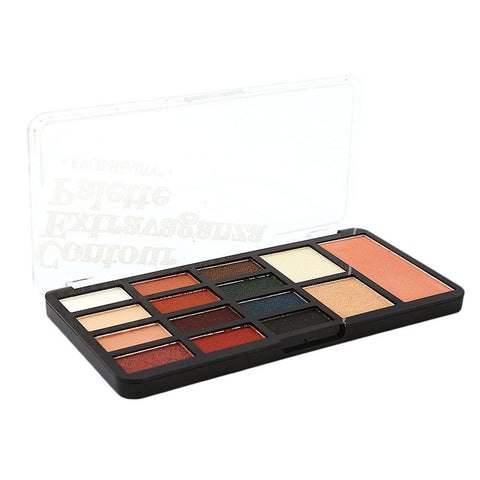Ever Beauty Contour Extravaganza Eye Shadow Kit 15 colors  - Multi - test-store-for-chase-value