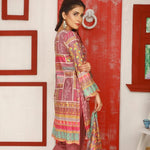 Libas Embroidered Lawn 3 Piece Un-Stitched Suit Vol 02 - 5 A - test-store-for-chase-value