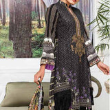 Ayesha Alishba Embroidered Linen 3 Piece Un-Stitched Suit - 027