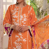 Ayesha Alishba Embroidered Lawn 3 Piece Un-Stitched Suit - 771