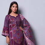 Rangreza Printed Lawn 3 Piece Un-Stitched Suit Vol-04 ZS - 14 - test-store-for-chase-value