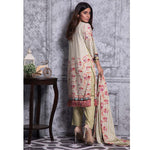 Rangreza Printed Lawn 3 Piece Un-Stitched Suit Vol-06 ZS - 10 - test-store-for-chase-value