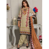 Rangreza Printed Lawn 3 Piece Un-Stitched Suit Vol-07 ZS - 09 - test-store-for-chase-value