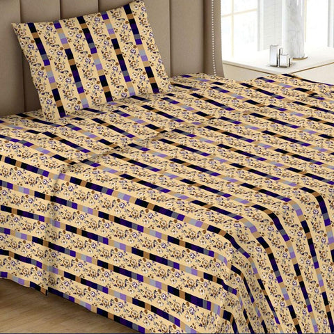 Printed Single Bed Sheet - Multi 01 - test-store-for-chase-value