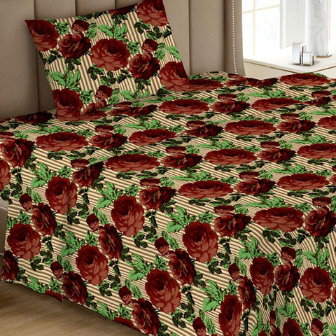 Printed Single Bed Sheet - Multi 02 - test-store-for-chase-value