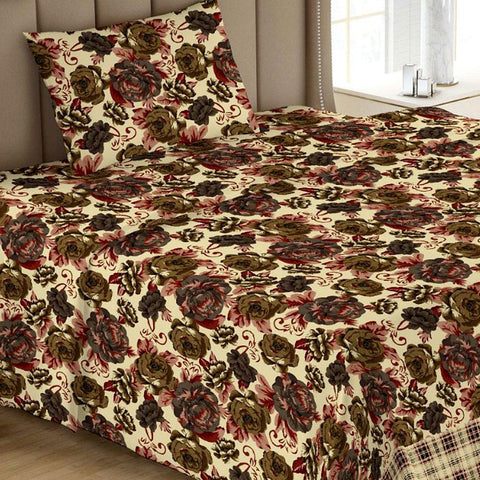 Printed Single Bed Sheet - Multi 06 - test-store-for-chase-value