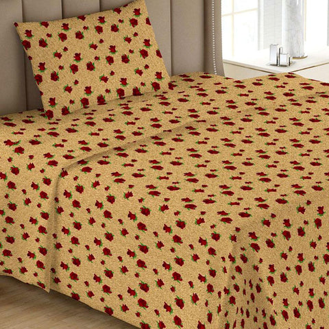 Printed Single Bed Sheet - Multi 11 - test-store-for-chase-value