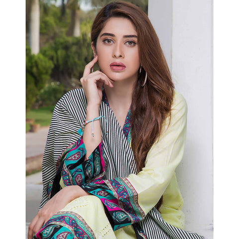 Subata Embroidered Festive Lawn 3 Piece Un-Stitched Suit - 2 B - test-store-for-chase-value