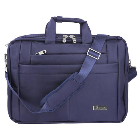 Laptop Bag (9011-7K1) - Navy Blue -  Navy/Blue - test-store-for-chase-value
