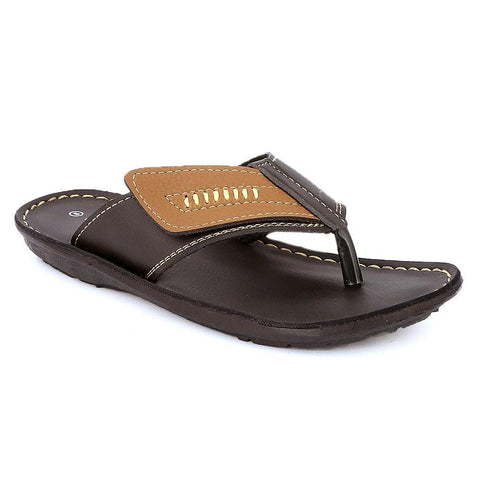Boys Slippers (1145-A) - Brown - test-store-for-chase-value