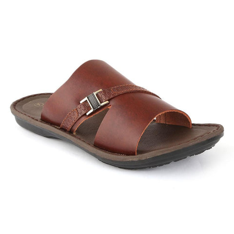 NDURE Men's Slipper S-99 - Brown - test-store-for-chase-value