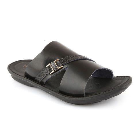 NDURE Men's Slipper S-99 - Black - test-store-for-chase-value