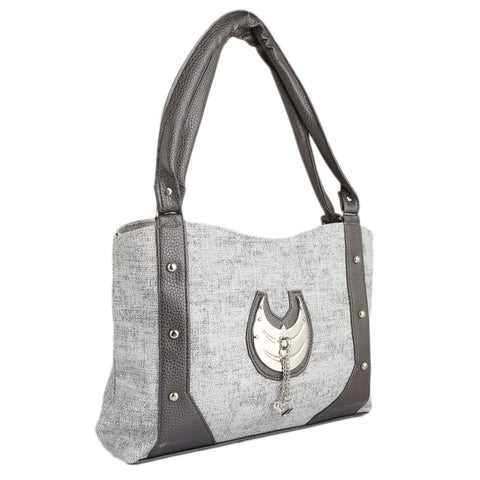 Women's Handbag (6747) - Dark Grey - test-store-for-chase-value