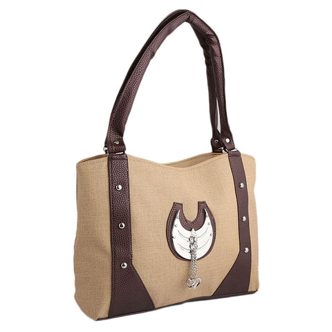 Women's Handbag (6747) - Beige - test-store-for-chase-value