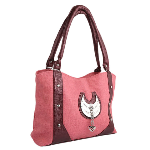 Women's Handbag (6747) - Peach - test-store-for-chase-value