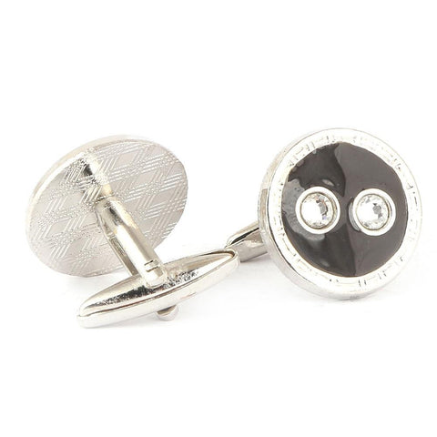 Men's Cufflinks - Grey - test-store-for-chase-value