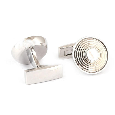 Men's Cufflinks - Silver - test-store-for-chase-value
