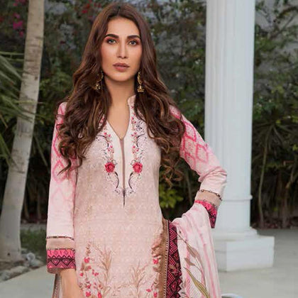 Colors Printed Lawn 3 Piece Un-Stitched Suit Vol 2 - 14 B - test-store-for-chase-value