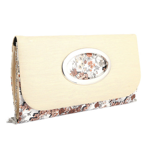 Women's Fancy Clutch 9071 - Fawn - test-store-for-chase-value