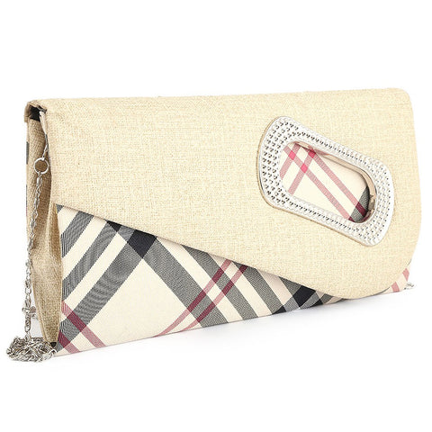 Women's Fancy Clutch 9074 - Fawn - test-store-for-chase-value
