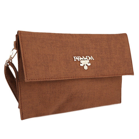 Women's Fancy Clutch 2257 - Camel - test-store-for-chase-value