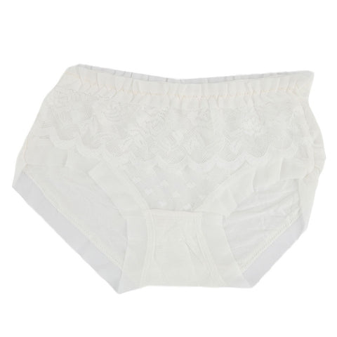 Women's Fancy Panty - White - test-store-for-chase-value