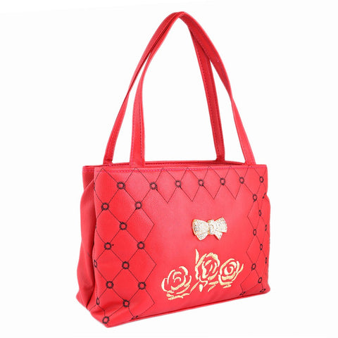 Women's Handbag (6538) - Red - test-store-for-chase-value