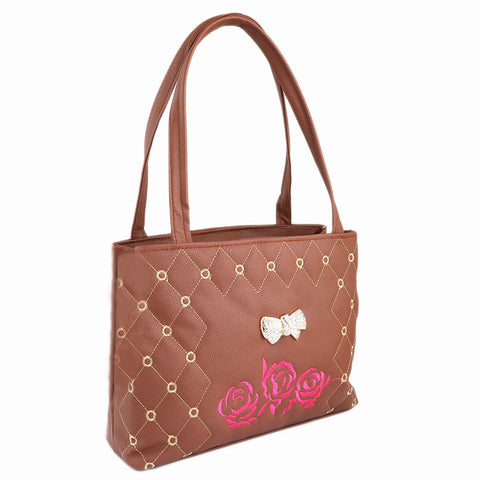 Women's Handbag (6538) - Brown - test-store-for-chase-value