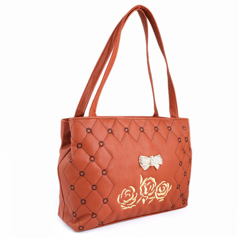Women's Handbag (6538) - Rust - test-store-for-chase-value