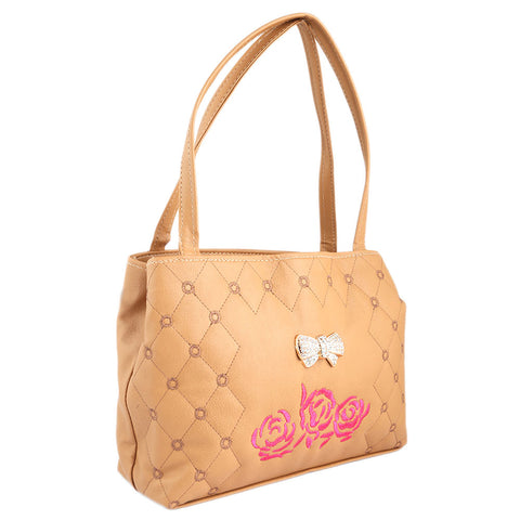 Women's Handbag (6538) - Beige - test-store-for-chase-value