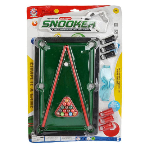 Mini Snooker For Kids - Multi - test-store-for-chase-value