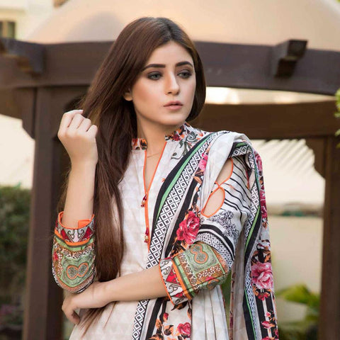 BS Printed Lawn Collection 3 Piece Un-Stitched Suit - 9 - test-store-for-chase-value