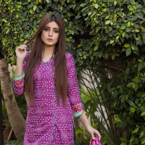BS Printed Lawn Collection 3 Piece Un-Stitched Suit - 13 - test-store-for-chase-value
