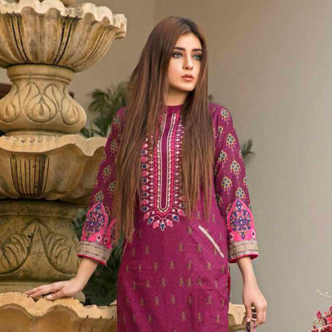 BS Printed Lawn Collection 3 Piece Un-Stitched Suit - 17 - test-store-for-chase-value