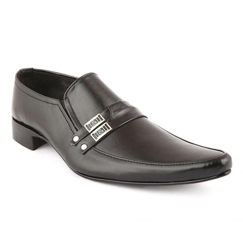 Men's Formal Shoes (F01) - Black - test-store-for-chase-value