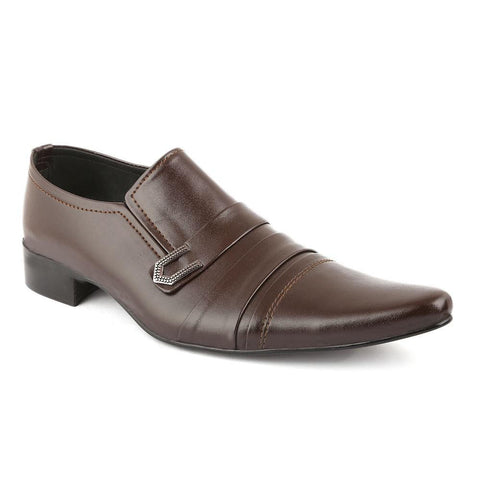 Men's Formal Shoes (F02) - Coffee - test-store-for-chase-value