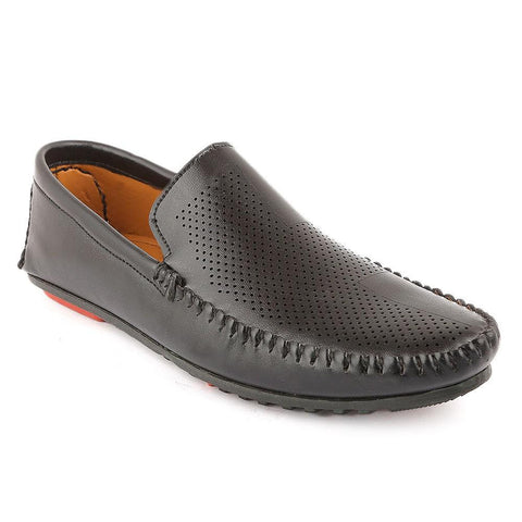Men's Loafers Shoes (0003) - Black - test-store-for-chase-value