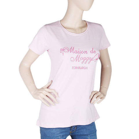 Women's T-Shirt - Light Pink - test-store-for-chase-value
