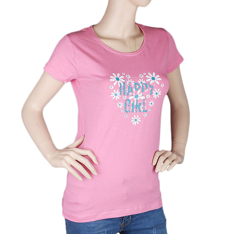 Women's T-Shirt - Pink - test-store-for-chase-value