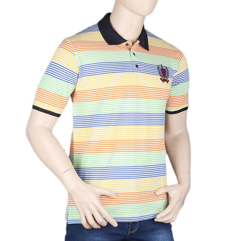 Men's Half Sleeves Polo T-Shirt - Multi - test-store-for-chase-value